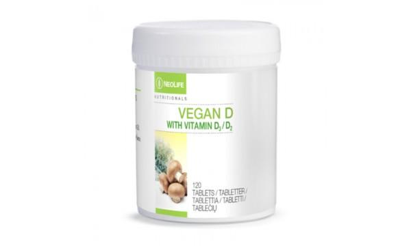 Vitaminas D, NeoLife Vegan D