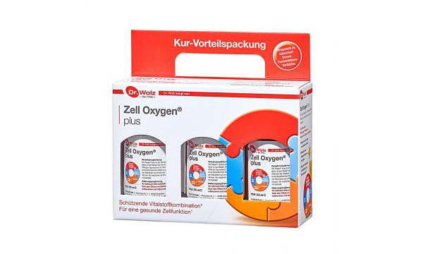Zell Oxygen® Plus (3 x 250 ml)