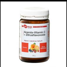 Acerola-Vitamin C + Bioflavonoide (Zitrusflavonoide) Dr. Wolz