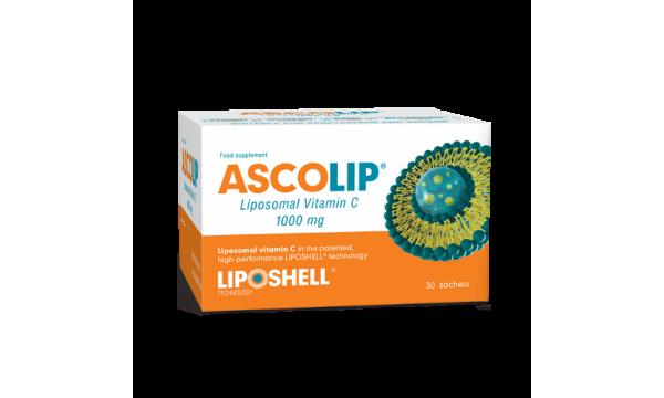 ASCOLIP® liposominis vitaminas C 1000 mg